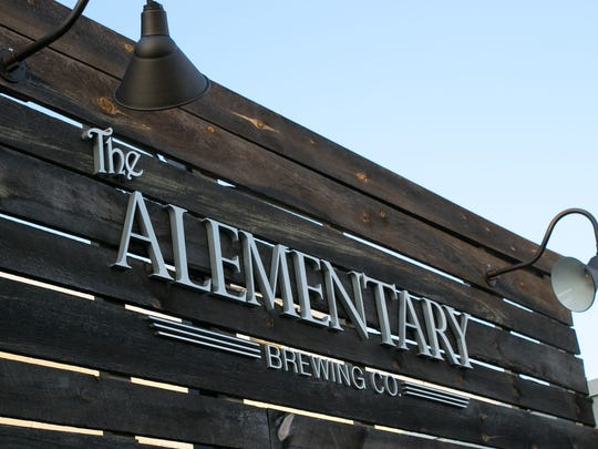 Alementary Brewing Company in Hackensack offers a pleasant outdoor space.