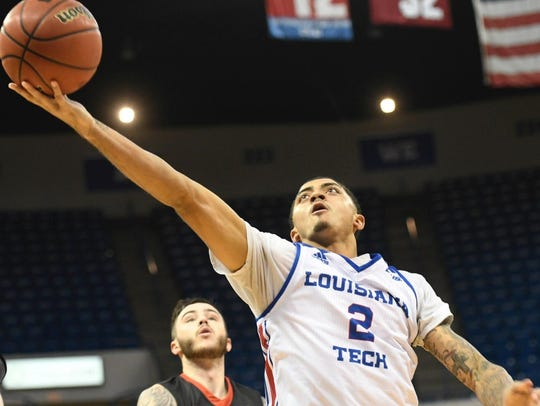 Jalen Harris, whon playing for Louisiana Tech, was a mid-year transfer to Nevada two seasons ago.