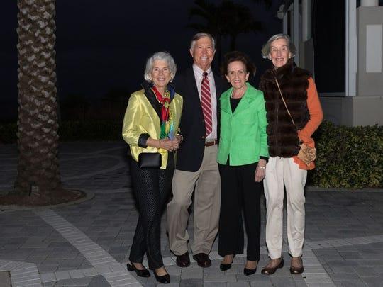 Stephanie Hurtt, Lee Adamson, Karen Meyer, and Lisa O'Brien
