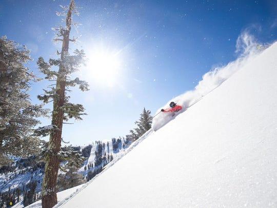 Ikon Pass ski resort Squaw Valley received six feet