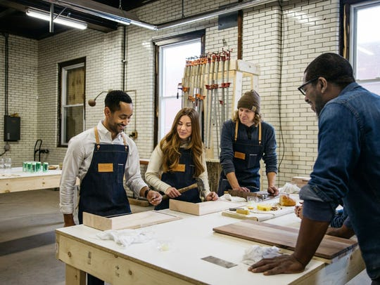A workshop in wood work will be offered in Detroit