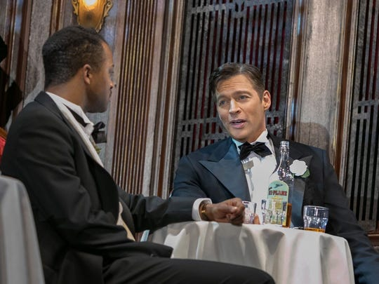 """""""The Sting"""" at Paper Mill Playhouse. L to R: J Harrison Ghee, Harry Connick Jr."""