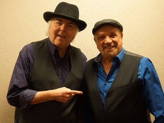 Gene Cornish and Felix Cavaliere of the Rascals.