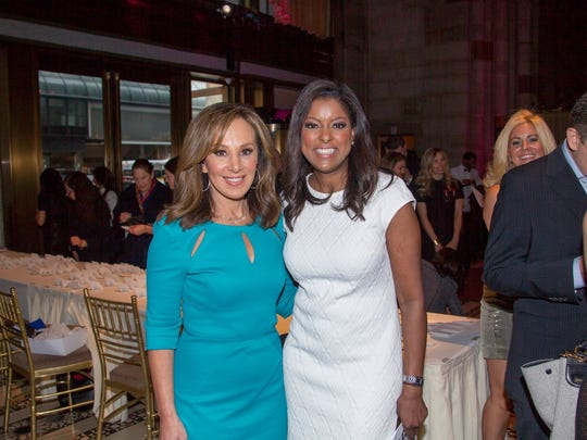 Rosanna Scotto and Lori Stokes. Food Allergy Research & Education (FARE) hosted the 19th annual Spring Luncheon at Cipriani 42nd Street in New York City. 04/25/2018