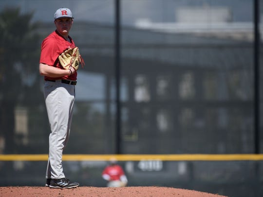 Harry Rutkowski is having a fine freshman campaign with the Scarlet Knights