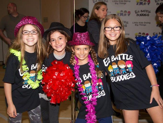 Tatum, Sophia, Sienna, Lexi. E's Battle Buddies 'kids