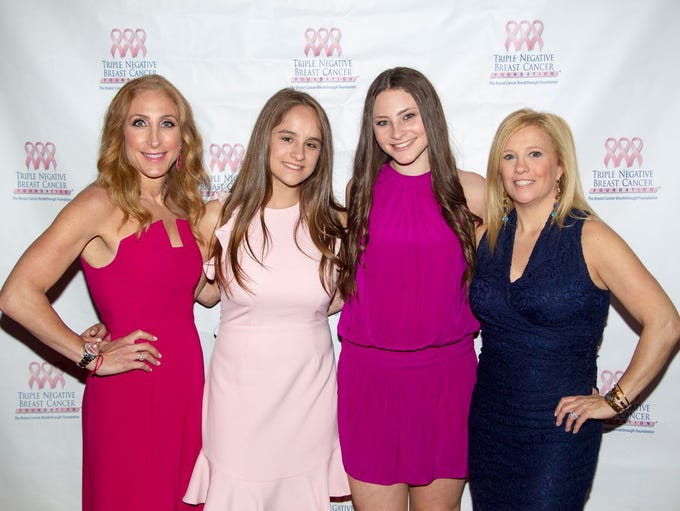 Andrea Maline, Sydney Sweetwood, Grace Maline, Jennifer