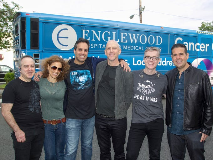 Z100 Skeery Jones with the N.E.D. Band. Englewood Hospital