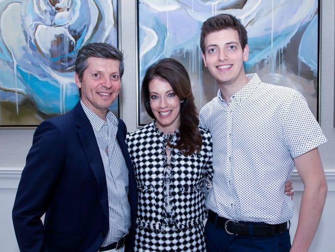 Charles, Jennifer, Derek Matar. Family Promise annual