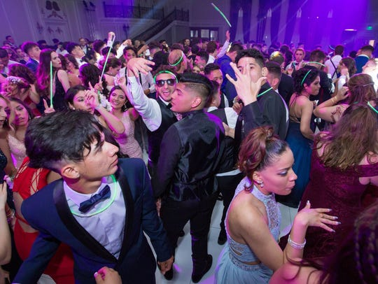 Passaic Valley High School held its 2018 Senior Prom