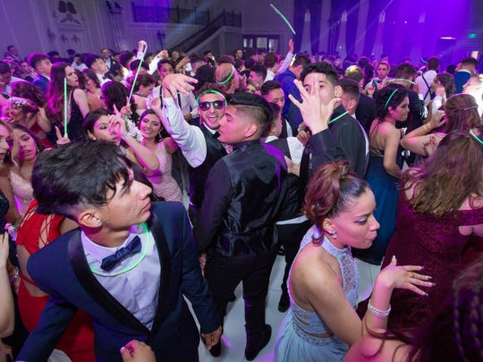 Passaic Valley High School held its 2018 Senior Prom in The Grand Legacy Ballroom at Legacy Castle in Pompton Plains. 06/08/2018