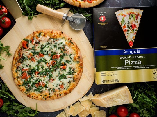Arugula pizza is available under the new ShopRite Trading Company label.
