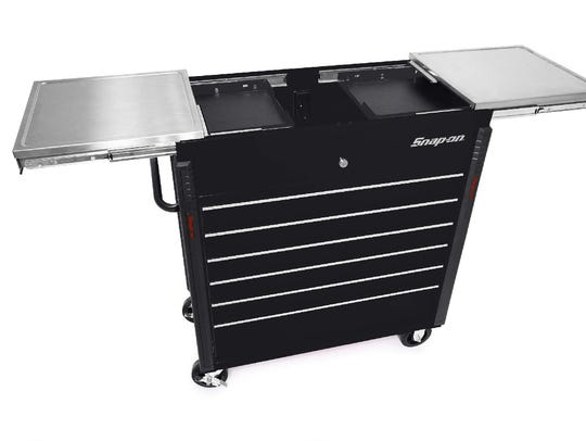An image of what the stolen Snap-on tool chest looks