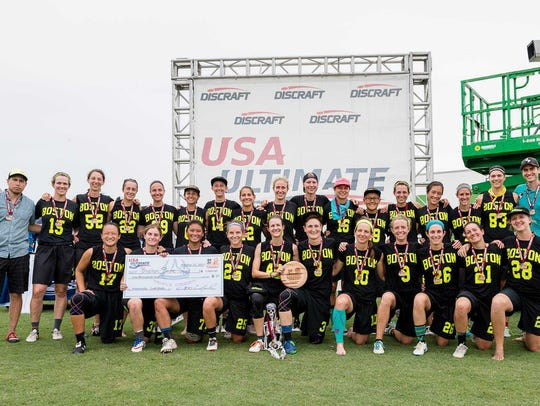 Boston Brute Squad is a two time National Champion