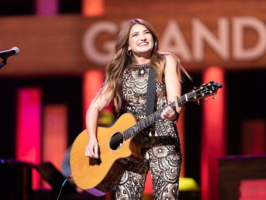 Tenille Townes made her Grand Ole Opry debut in June.