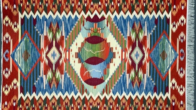The work of New Mexico weaving comes from the Ancestral Puebloan and Rio Grande Traditions now on display at the New Mexico Farm & Ranch Heritage Museum at 4100 Dripping Springs Road in Las Cruces.