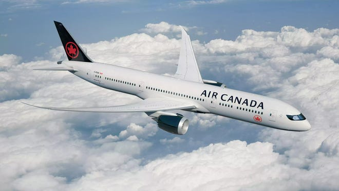 Air Canada has a new paint scheme for its planes and new wardrobes for its staff.
