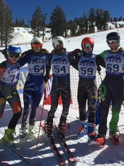 The Nevada men's ski team qualified for nationals.