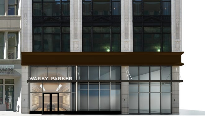 Detroit's new Warby Parker store.