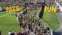 Pat's Run, which typically attracts more than 30,000 participants to Sun Devil Stadium, will be on Saturday, April 21 this year.