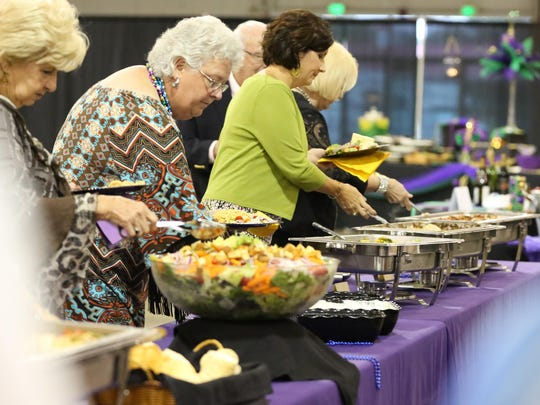 Food for the SWTDD Awards and Recognition Banquet held Thursday evening at the Jackson Fairgrounds was provided by Redbones.