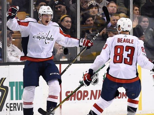 2536359b5d7 USP NHL  WASHINGTON CAPITALS AT BOSTON BRUINS S HKN BOS WSH USA MA. Washington  Capitals right wing Alex ...