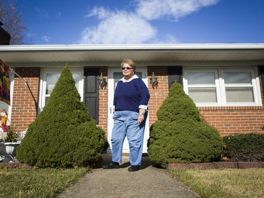 "Betty Jordan, who graduated from Robert E. Lee in 1967, stands for a portrait in front of her home in Staunton on Wednesday, Nov. 11, 2015. Jordan was at Lee when Booker T. Washington students were integrated into their classrooms. ""It went smooth, I guess it depends on your perspective, but I don't remember any problems at all."""