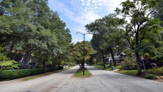 North Main Street, Greenville, SC.