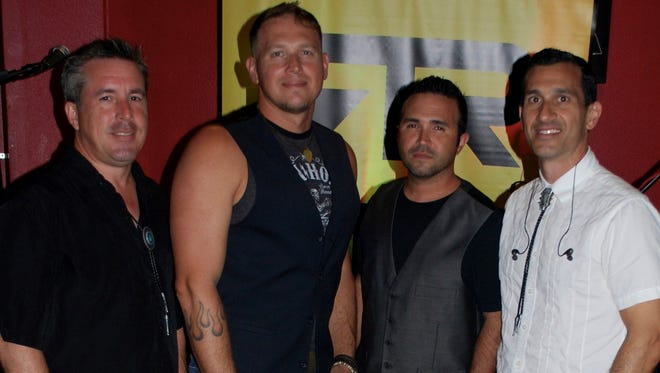 Rios Rock Band consists of Dan Diolosa (guitar/bass), Jim Taylor (guitar/bass). Jeff Barnes (drums) and Frank Rios (bass/guitar/keyboards) and Jordan Charla (soundman), play a eclectic mix of musical styles and cover everything from Tom Petty to AC/DC.
