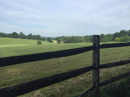 Brandywine Battlefield, site of one of the largest battles in the Revolutionary War, in Chadds Ford, Pennsylvania.