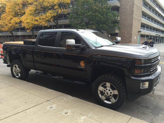 Carhartt Edition Chevy >> Chevy teams up with Carhartt for Silverado HD concept