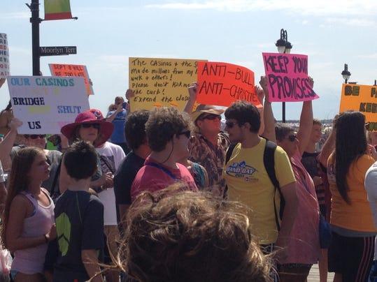 Christie AC protestors.jpg
