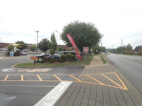 Photo at McDonald's entrance