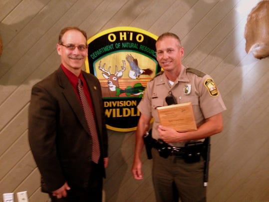 PTC 0825 wildlife officer awarded