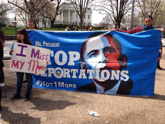 Opposing view deportations