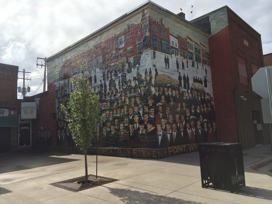 Artists sought to paint murals on downtown buildings for 6 blocks from downtown mural