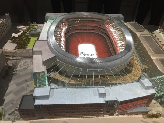 Model Of Little Caesars Arena Reveals Big Plans For Seats