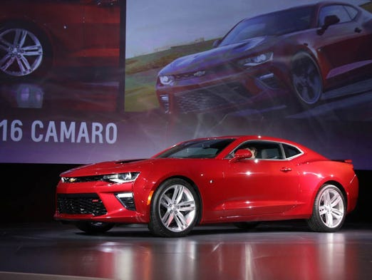 Chevrolet reveals the sixth-generation 2016 Chevrolet