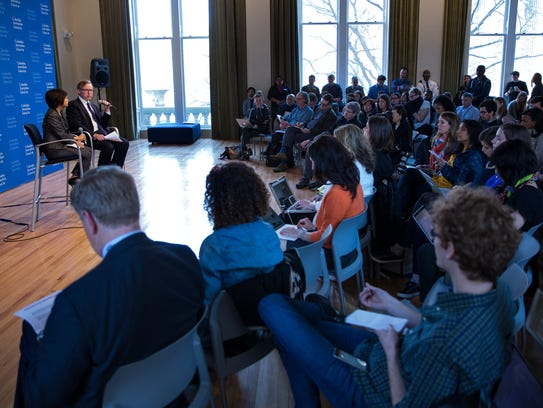 Columbia Journalism School Academic Dean Sheila Coronel