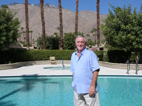 David Carden lives on lease land in the Rose Garden neighborhood in Palm Springs.