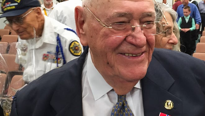 "Norman Heller, 84, of Viera, finally received his Bronze Star with ""V"" (for valor) Device 49 years after aiding an injured American soldier during an enemy attack in Vietnam."