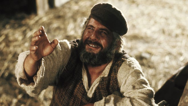 'May the Lord smite me with it. And may I never recover,' dairyman Tevye says in 'Fiddler on the Roof.'