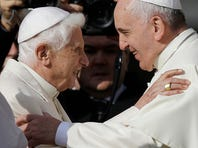 Retired Pope Benedict 'on a pilgrimage home'