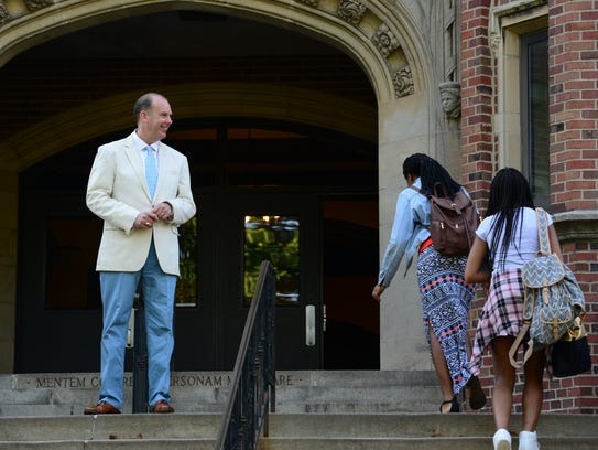 Teaneck Principal Dennis Heck, who is retiring after