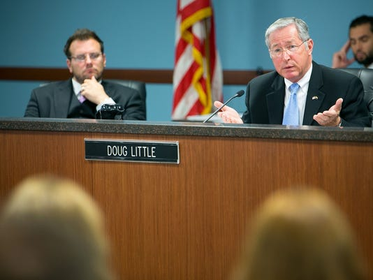 Arizona Corporation Commissioners Tom Forese and Doug Little