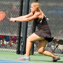 Pine View second singles Lily Hemenway and first singles Hattie Erekson advanced into Saturday's semifinals at the Girls 3A State Tennis Championship in Salt Lake City.