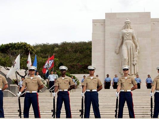 Hawaii Memorial Day Ceremony