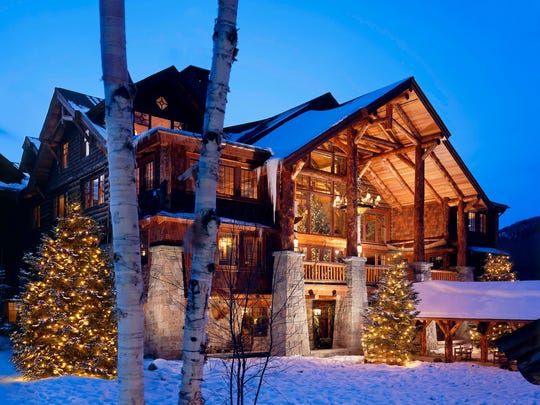 Winter at the Whiteface Lodge in the Adirondacks.