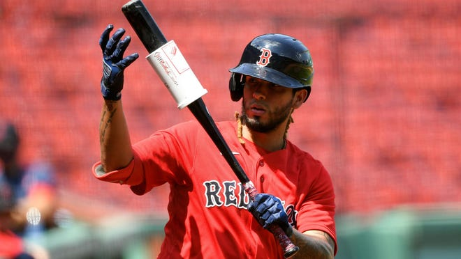 Jonathan Arauz has earned his playing time by hitting .286 this season, including .385 over the last two weeks, for the Red Sox.