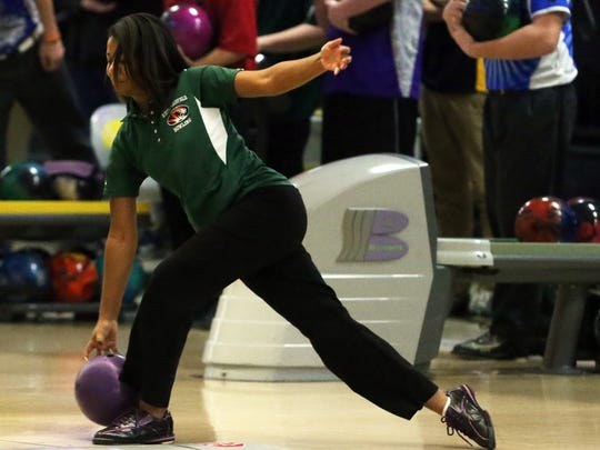 Lanasia Neal bowled the fifth-best game on Saturday